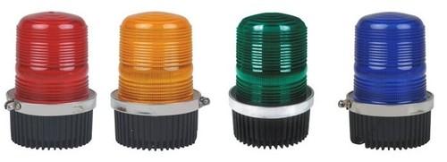 LED blinking warning lights