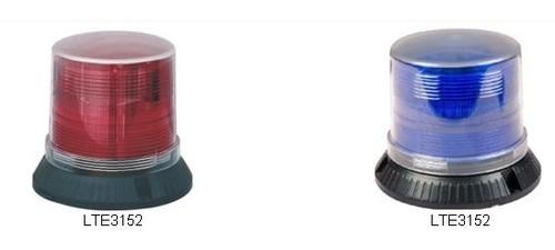 Burst flashing warning lights