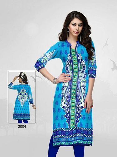 Wholesale Unstitched Kurti Materials