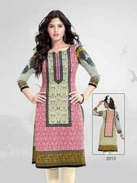 Latest Designer Unstitched Kurties Materials