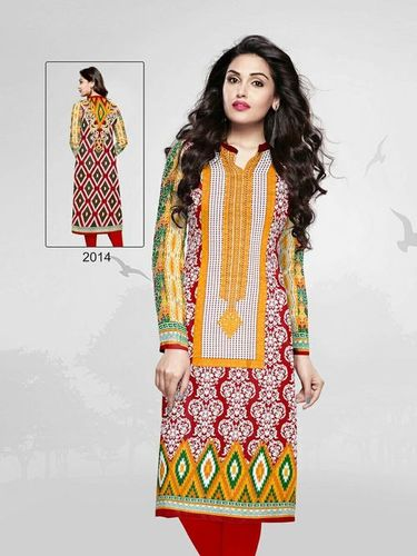 Unstitched Kurties Fabrics Online