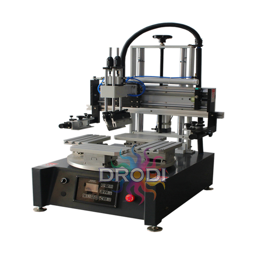 4 Station Flatbed Screen Printing Machine