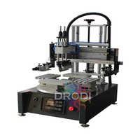 4 Station Flatbed Screen Printing Machine