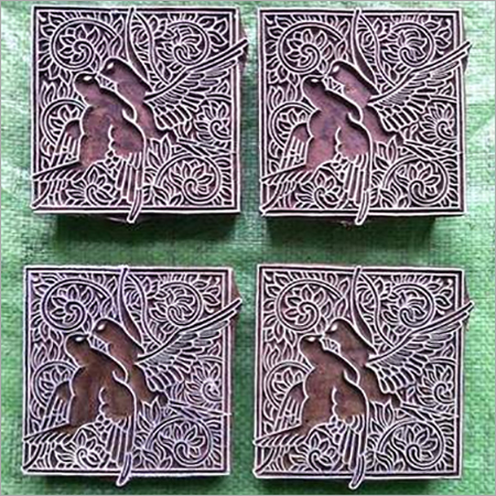 Wooden Printing Blocks For Printing on fabric n paper