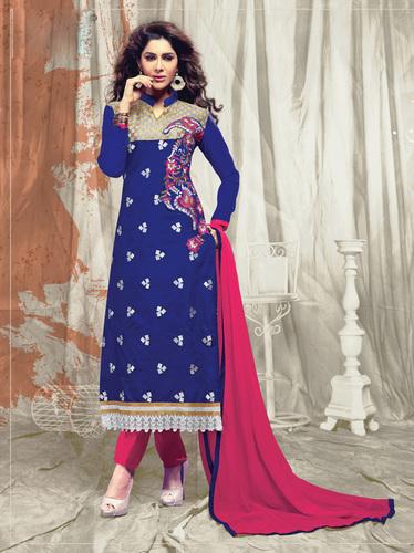 """{""""Ladies Blue Salwar Kameez"""",""""Ladies Blue Salwar Kameez""""}"""