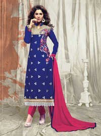 Ladies Blue Salwar Kameez