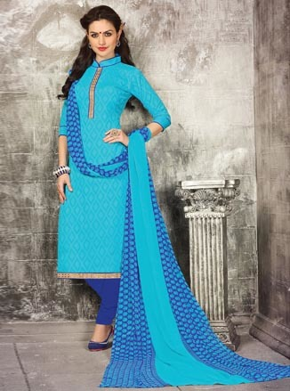 Designer Printed Dress Material