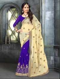 Designer Half & Half Saree