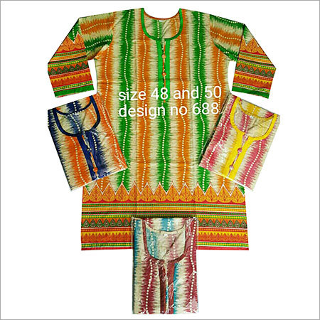 Pure Printed Cotton Kurti