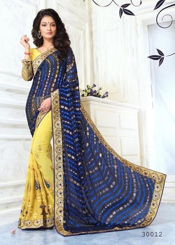 Traditional Half & Half Saree