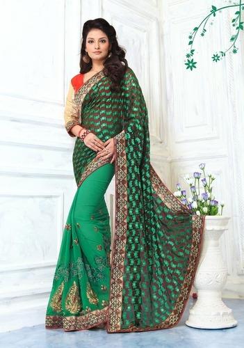 Attractive Indian Half Saree