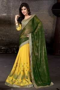 Exclusive Half & Half Saree