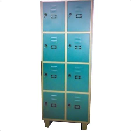 Eight Locker Steel Almirah