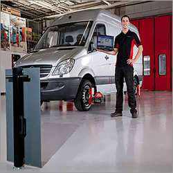 Truck or Bus Wheel Alignment