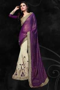 Western Ethnic Saree