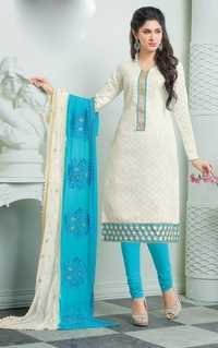 Salwar Kameez With Printed Dupatta