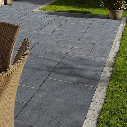 Natural Finish Black Limestone