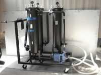 THREE STAGE FILTRATION SYSTEM