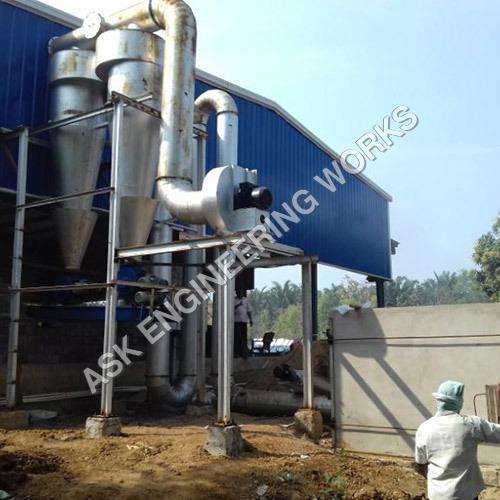 生物量急骤干燥器