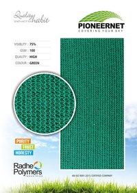 AGRO SHADE PLASTIC NET