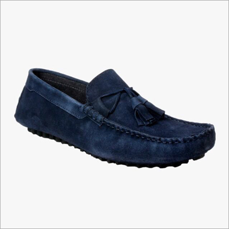 Blue Loafer Shoes