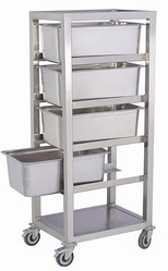 Food Pan Service Trolley