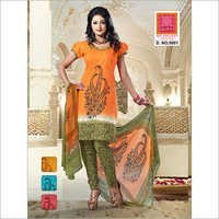 Cotton Salwaar Kameez With Dupatta