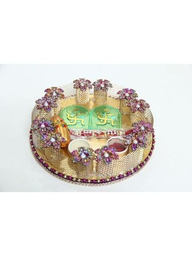 Handicraft Rakhi Thali