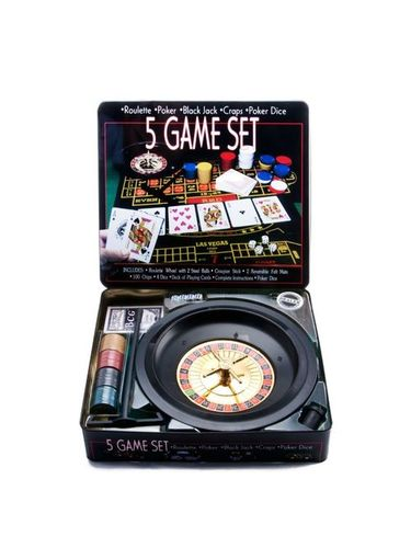 Roulette Set 5 in 1 Game
