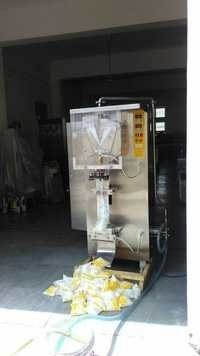 Automatic Milk Pouch Filling And Sealing Machine