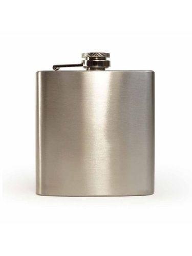 Steel Hip Flask Matte Finish