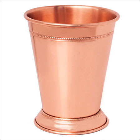 Mint Julep Cup - 100% Copper Beautifully Handcrafted