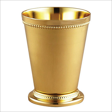 Mint Julep Cup Gold Finish