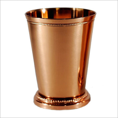 Mint Julep Cup Copper Finish