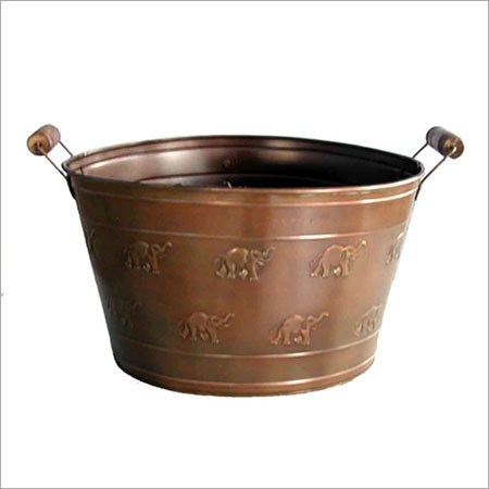Copper Antique Bucket