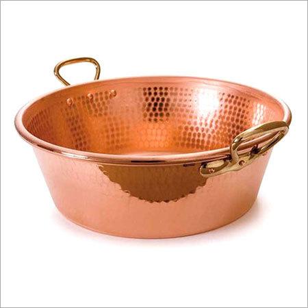 Copper Tub Bowl