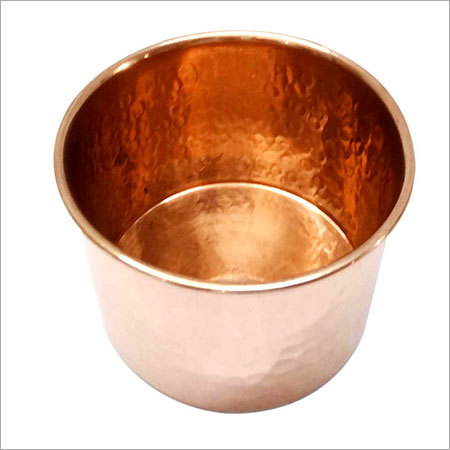 Copper Candle Holder NJO-2501