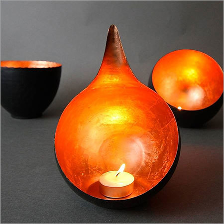 Copper Candle Holder NJO-2512