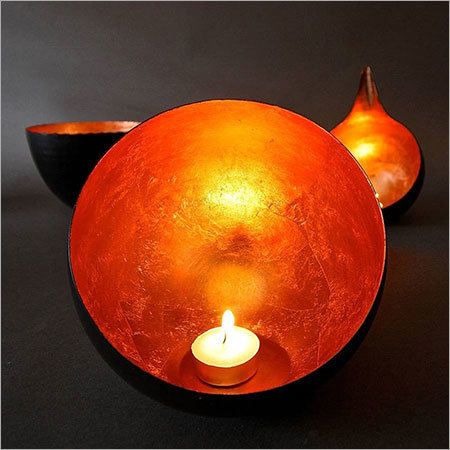 Copper Candle Holder NJO-2513