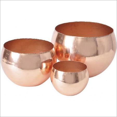 Copper Candle Holder NJO-2523