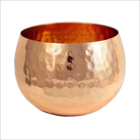 Copper Candle Holder NJO-2528