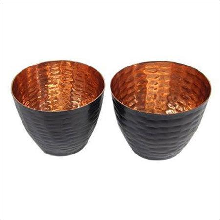 Copper Candle Holder NJO-2530