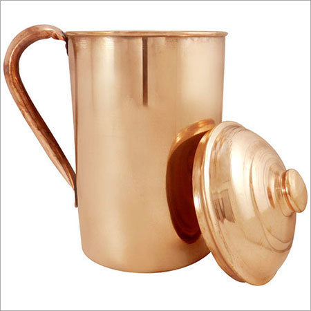 Handcrafted Copper Water Jug