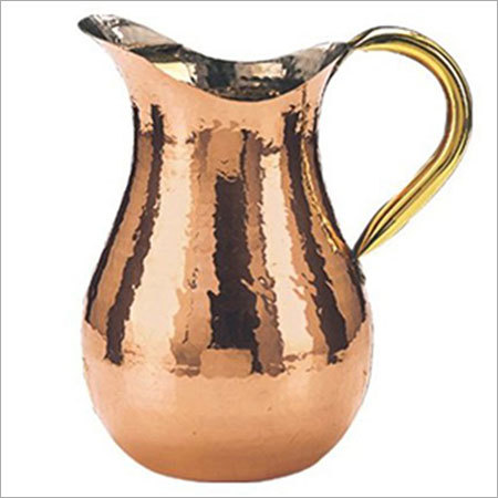 Decorative Copper Jug