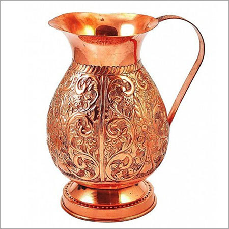 Antique Copper Water Jug