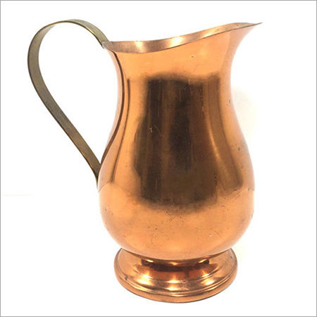 Copper Jug Without Lid