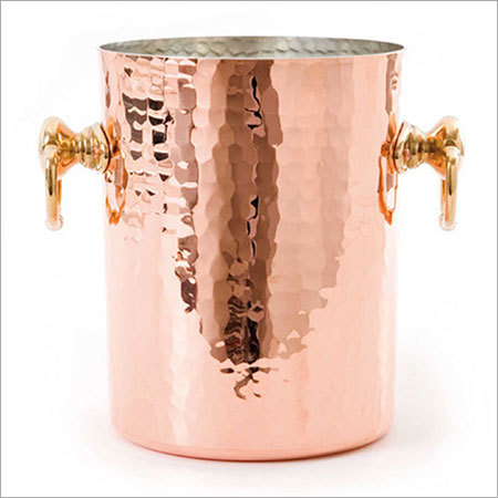 Antique Copper Ice Bucket