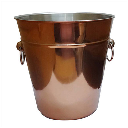 Copper Plated Bucket
