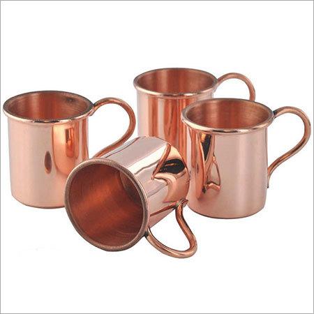 Copper Shot cup Glass 2 Oz