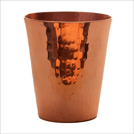 HAM Hammered Copper Shot Glass
